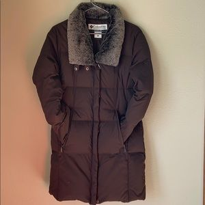GUC Columbia brand full length winter coat Small